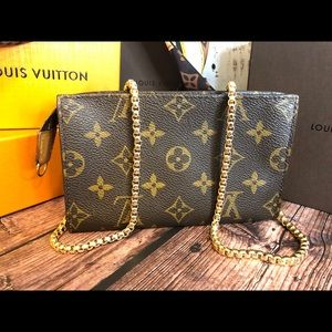 Louis Vuitton Pouch PM wristlet or crossbody